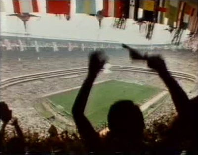 Estadio Azteca crowd