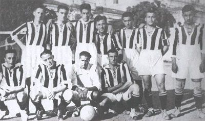 Besiktas football team in 1924