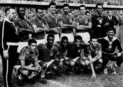 Brazilian team photo in Brazilo team