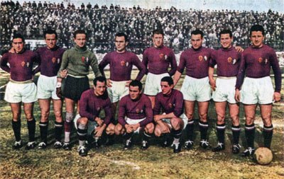 Fiorentina group picture 1940