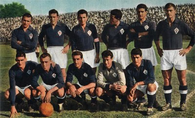 Fiorentina group picture 1955