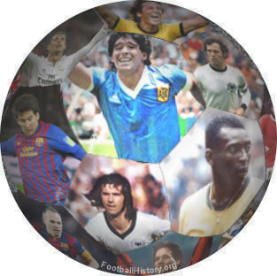 football collage with players