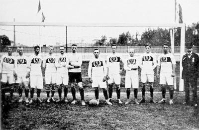 Germany football team in 1912