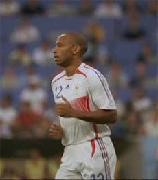Henry in national team