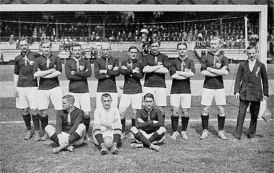 Hungary national team in 1912