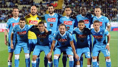 SSC Napoli team picture