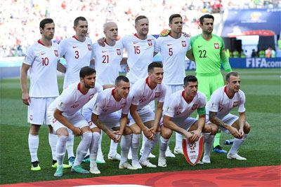Poland football team in 2018