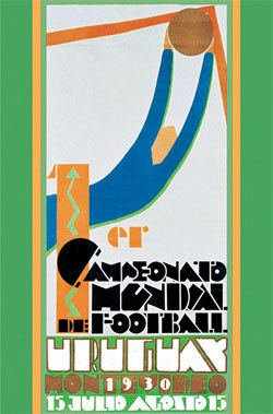 Offical Poster World Cup 1930