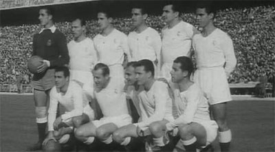 Real Madrid team in 1953