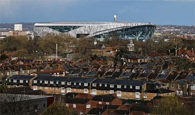 Tottenham Hotspur Stadium from distant