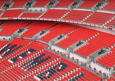 Wembley Stadium seats