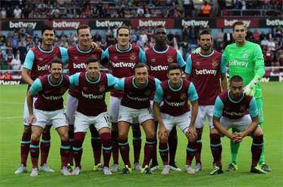 West Ham team