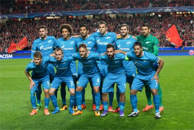 Zenit Saint Petersburg team